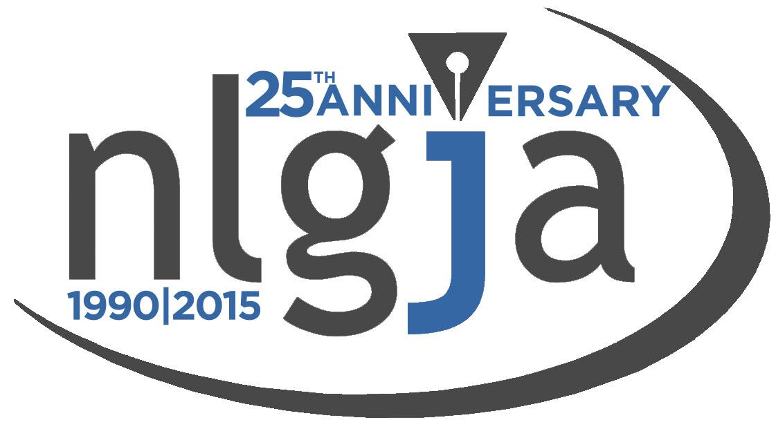 NLGJA Annaversary Logo
