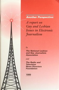 Another Perspective a Report on Gay and Lesbian Issues in Electronic Journalism