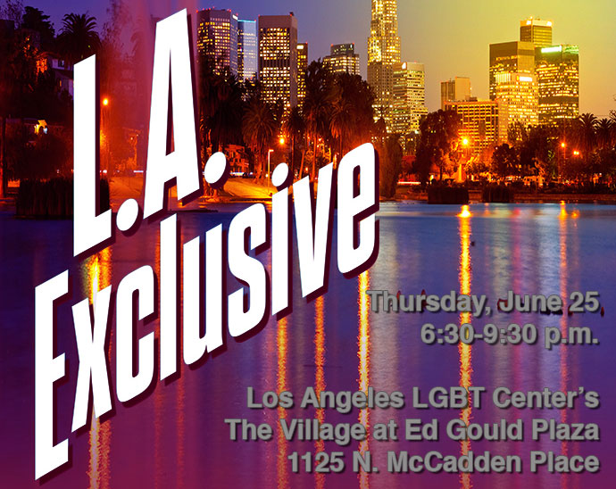 It'd be Great to See You at L.A. Exclusive