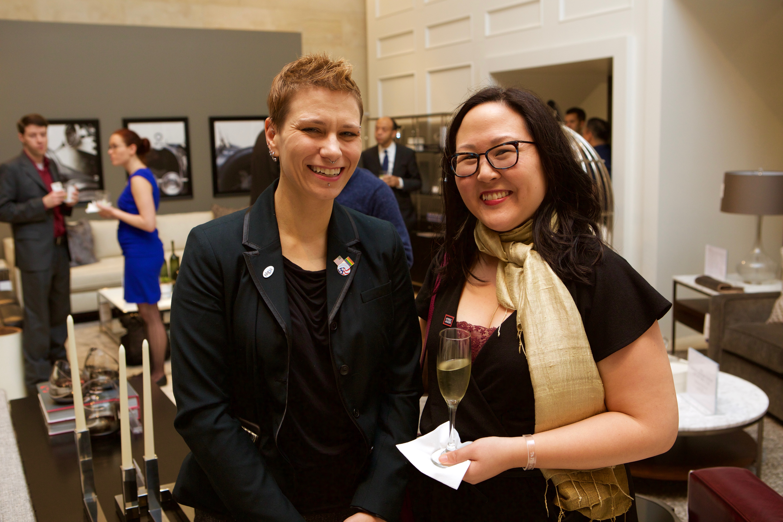 Sarah Blazucki and Doris Truong