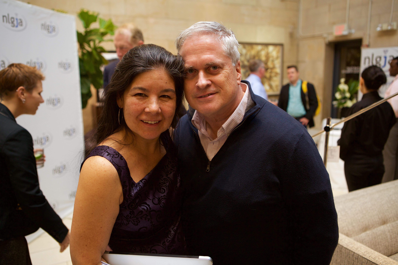 Maya Blackmun and Bob Witeck