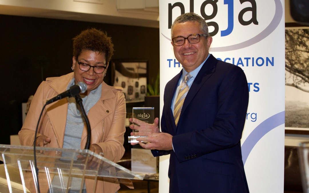 NLGJA Honored Jeffrey Toobin for Coverage of LGBT Coverage at Last Night's Dateline:DC