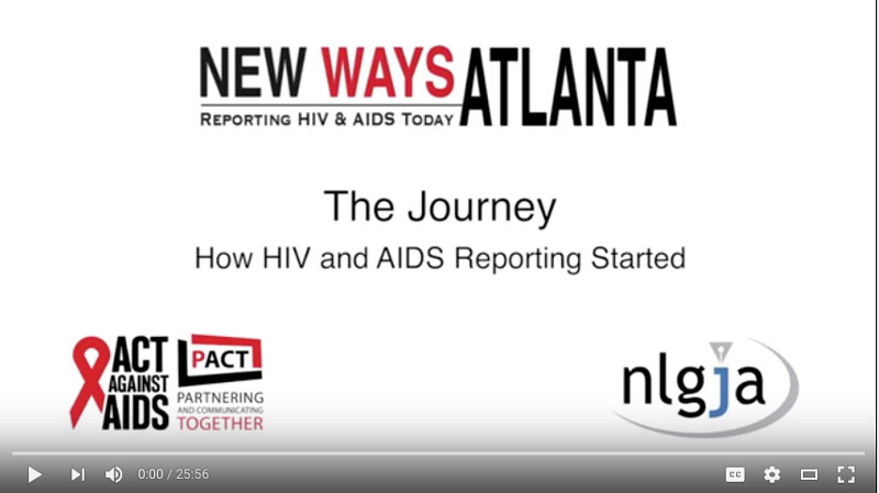 The Journey – How HIV and AIDS Reporting Started